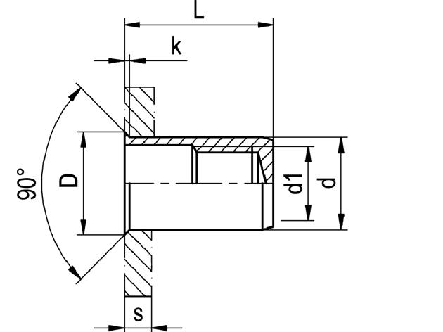 Nytovaci Matice M 8 A4 0 5 3 0 Uzavrena S Malou Hlavou 90 Trans